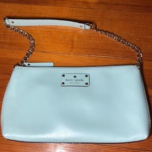 KateSpade Robins egg blue purse